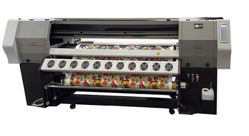 دستگاه چاپ روی پرده